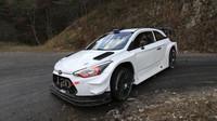 FOTO: Hyundai a jeho poslední letošní test i20 Coupe WRC