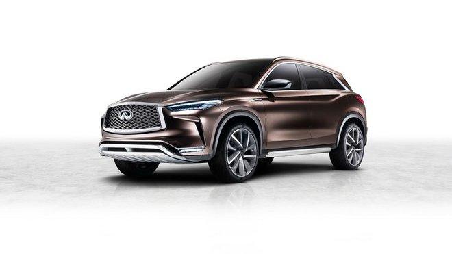 Koncepční Infiniti QX50 představuje předobraz budoucího SUV.