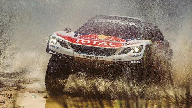 Loeb se vrací ke svým problémům s turbem ve čtvrté etapě - anotačné foto