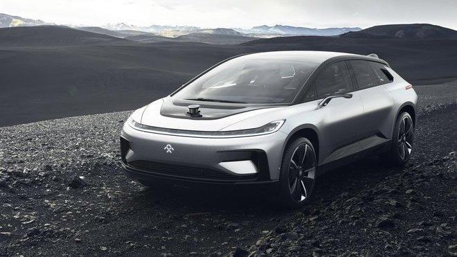 Nový vládce světa elektromobilů? Faraday Future FF 91 zadupe i Teslu. Úplně vším - anotačné foto