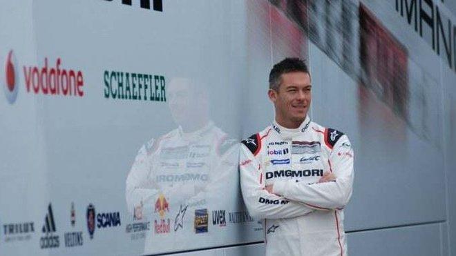André Lotterer je pro zákaznické vozy LMP1 - anotačné foto