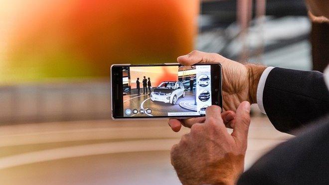 BMW testuje produktový vizualizér rozšířené reality. Víme, k čemu slouží - anotačné foto