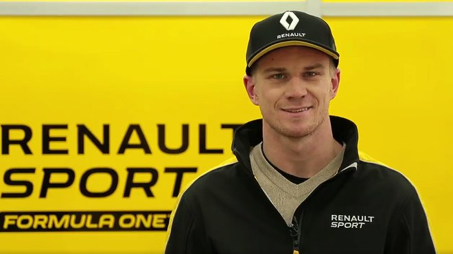 Pilot Renaultu Nico Hülkenberg