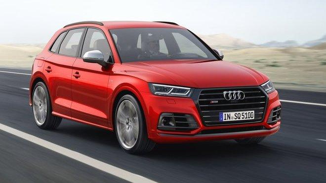 Konečně pořádný motor! Audi SQ5 se vrací, ve druhé generaci už nebude za exota - anotačné foto