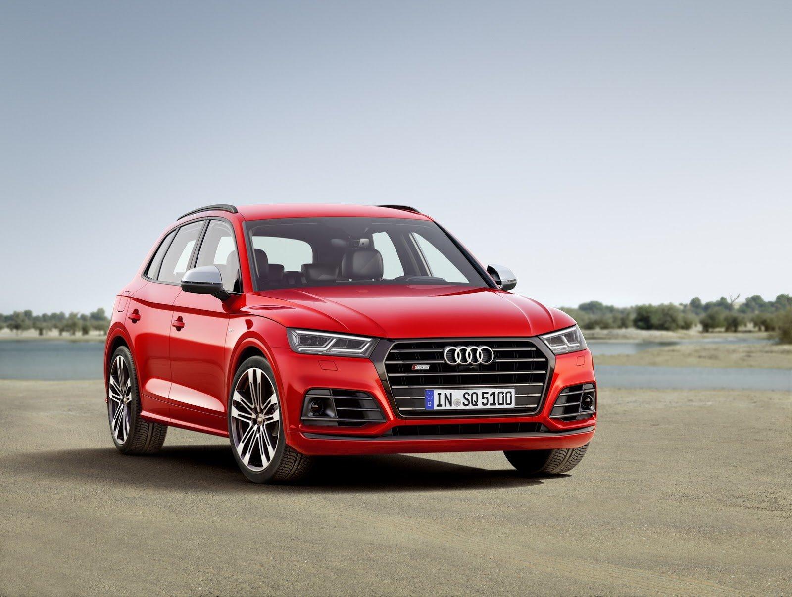 Audi SQ5 přichází ve druhé generaci, i pro Evropu má benzínový motor.