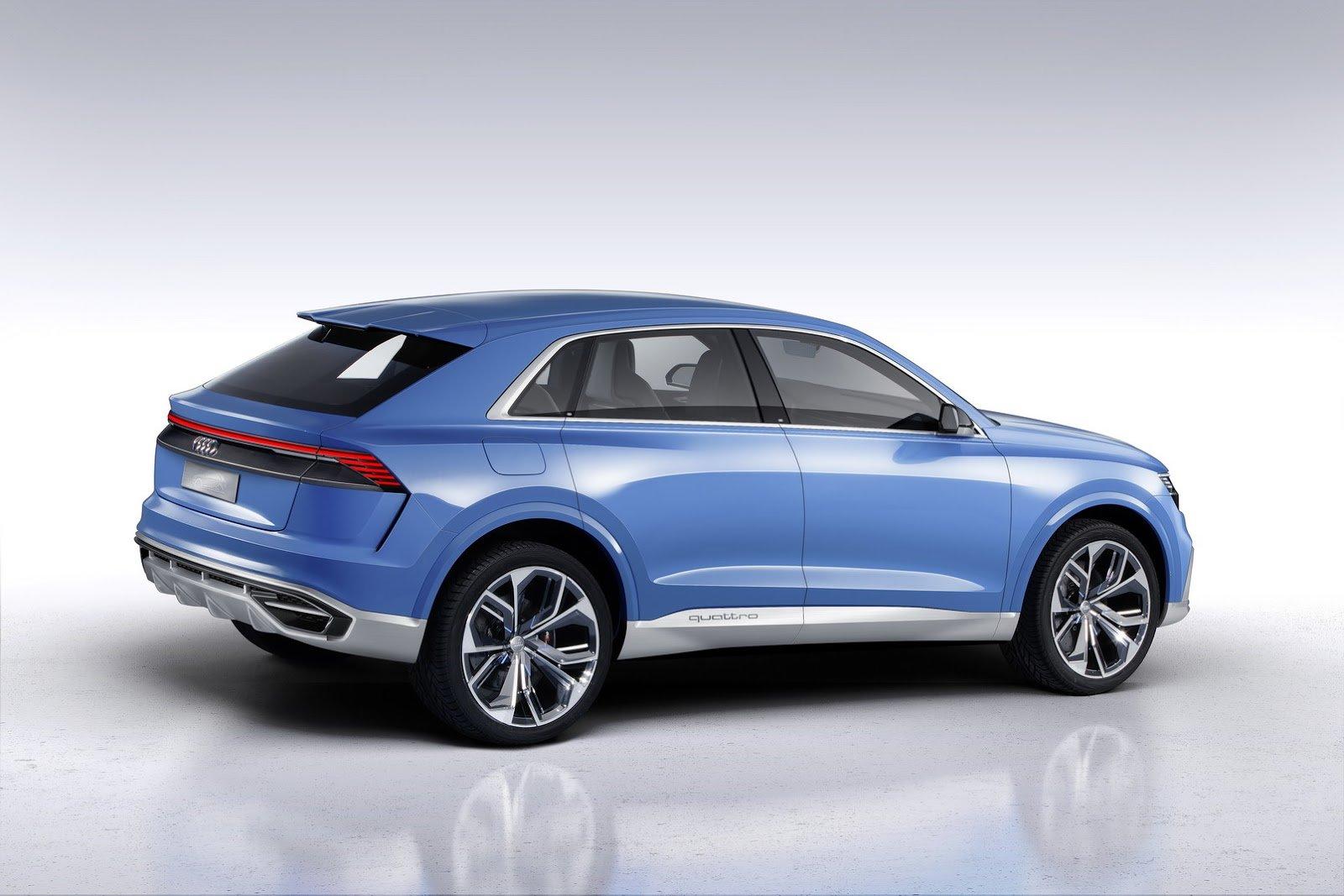 Audi Q8 se představuje nejprve jako koncept, realitou se ale stane již brzy.