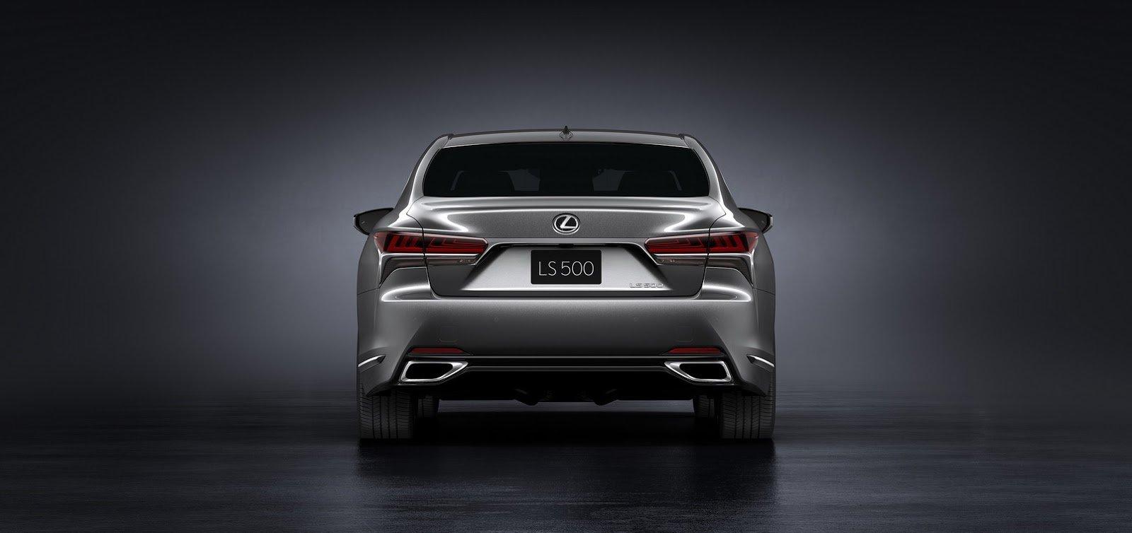 Páté vydání Lexusu LS ukazuje novou tvář japonské limuzíny.