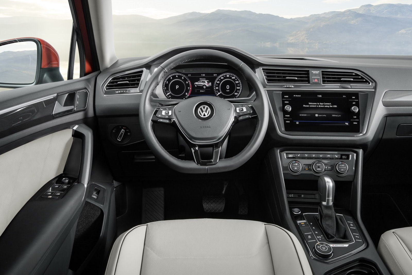 Volkswagen Tiguan Allspace má dodatečnou třetí řadu sedadel a rozměry blízké Kodiaqu.
