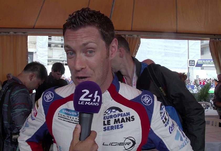 Julien Canal při závodě 24H Le Mans 2016 v barvách Greaves Motorsport