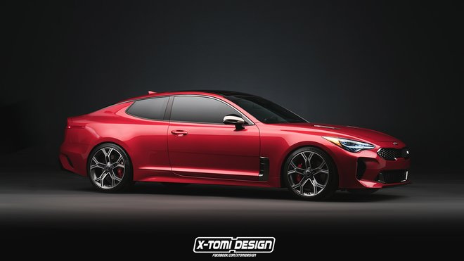 Kia Stinger Coupé (2017)