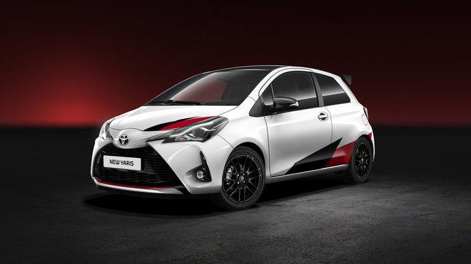 Toyota představila v Ženevě ostrou verzi malého Yarisu.