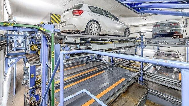 parkovací mechanické zakladače
