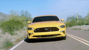 Omlazený Ford Mustang na prvních záběrech.