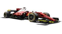 Jeden z grafických návrhů Ferrari pro sezónu 2017
