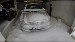 Ruské extrémní mrazy a start moderních automobilů.