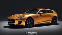 Nový Jaguar F-Type 400 jako Shooting Brake? Nic není nemožné - anotační obrázek