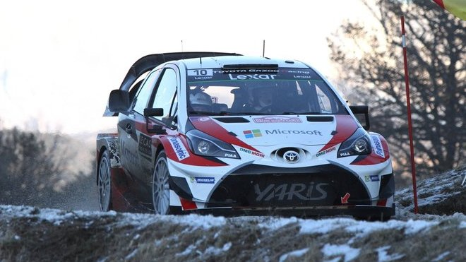 Jari-Matti s novým Yarisem WRC