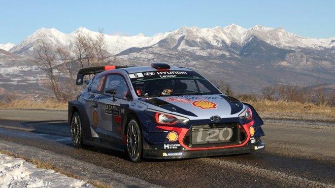 Rally Monte Carlo: Neuville ujíždí zbytku světa, Hänninen a Meeke havarovali - anotační foto