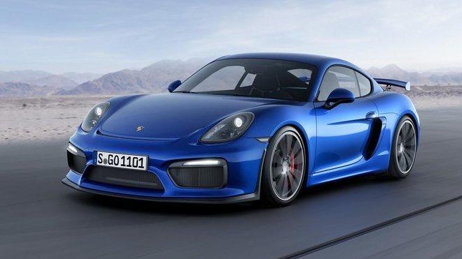 U Porsche jsou blázni. Cayman GT4 jim nestačí a proto přijde verze RS - anotační foto