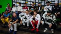 Závod šampionů 2017 v Miami - porada s piloty