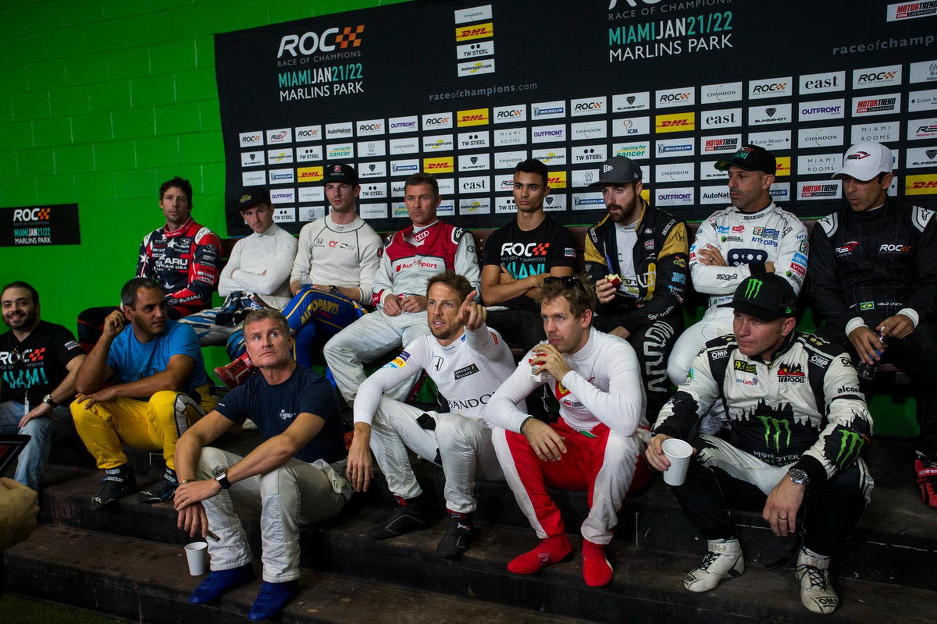 Závod šampionů v Miami ovládl Montoya, porazil hvězdy F1 - anotační obrázek