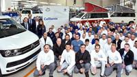 Výroba Volkswagenu California T6 jede jako po másle. Značka slaví významný milník - anotační foto
