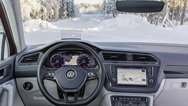 Volkswagen představil bezdrátové vyhřívání čelního skla.