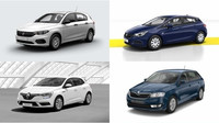 Kompaktní hatchbacky ve svých nejlevnějších variantách.