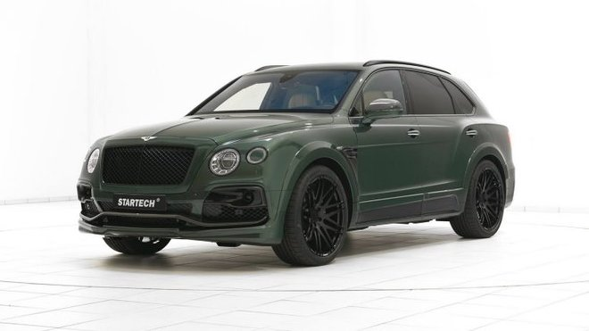 Bentley Bentayga v úpravě Startech