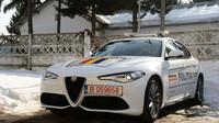 Rumunská policie dostala Alfy Romeo Giulia Veloce