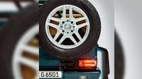 Mercedes-Benz G 65 AMG 4x4² kabriolet