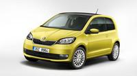 Škoda Citigo s novou přídí a modernizovaným interiérem