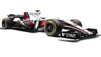 Grafický návrh Williamsu FW40