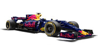 Jeden z grafických návrhů možného vzhledu Red Bullu RB13