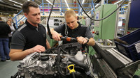 Valtteri Bottas na návštěvě Mercedesu ve Stuttgartu