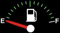 Ukazatel paliva na přístrojové desce