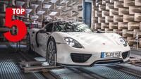 Pětice modelů Porsche s nejlepším zvukem.