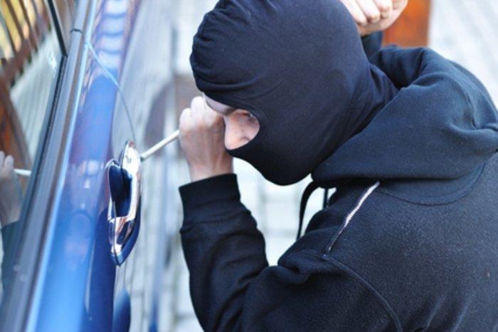 Zloděj aut v akci