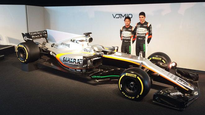 Piloti u desátého vozu v historii stáje Force India