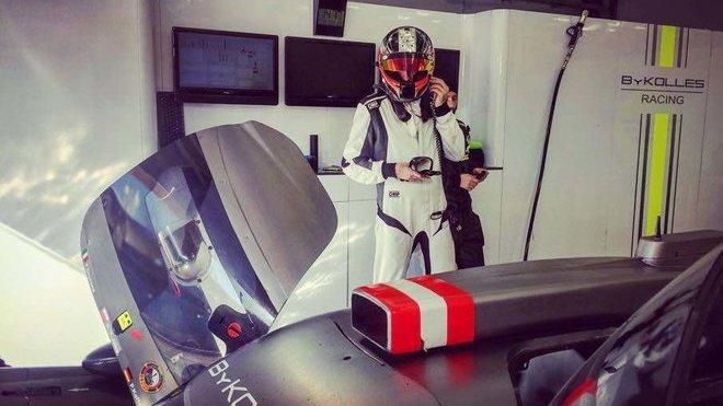 Robert Kubica při testování v týmu ByKolles