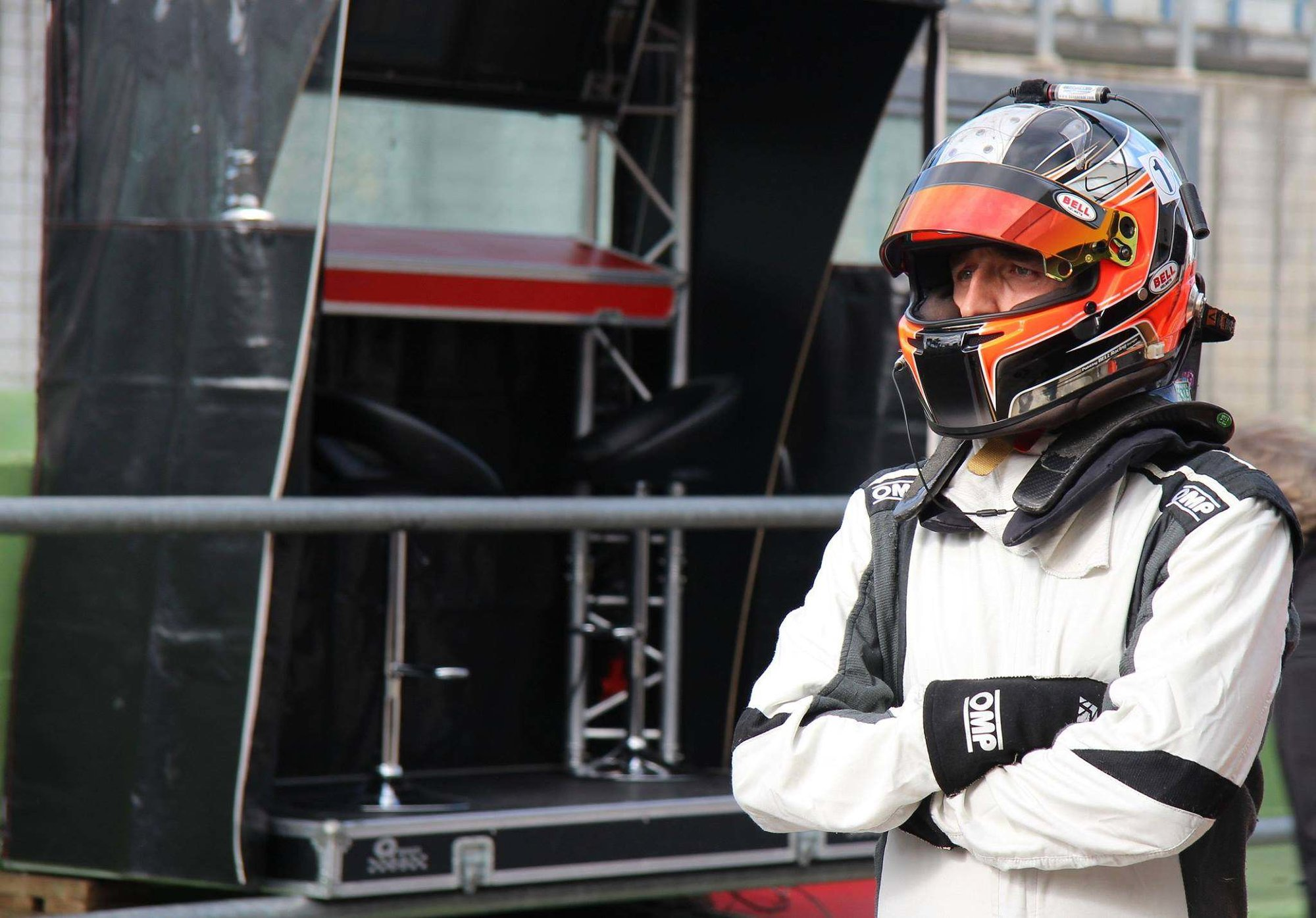 Robert Kubica při testování