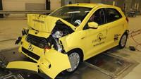 Ford Ka+ v nárazových testech Euro NCAP.