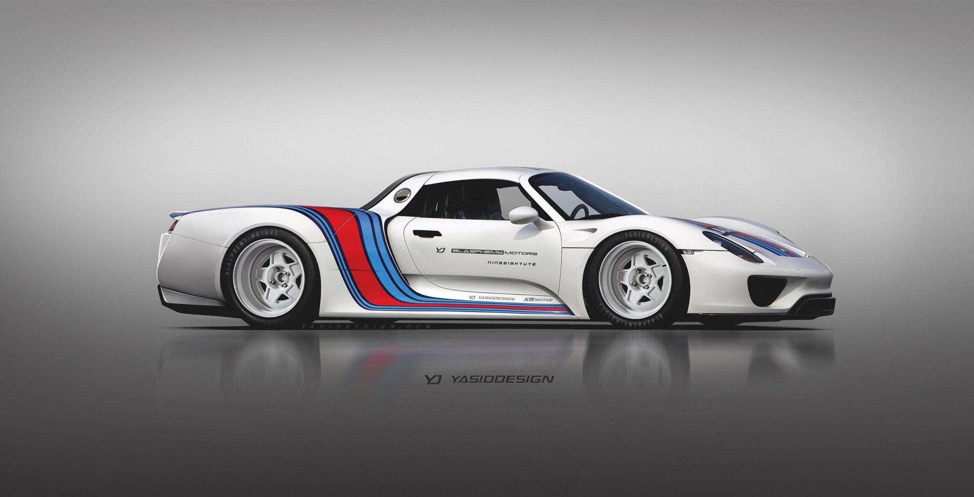 Hypersporty jako pickup - Porsche 918 Spyder