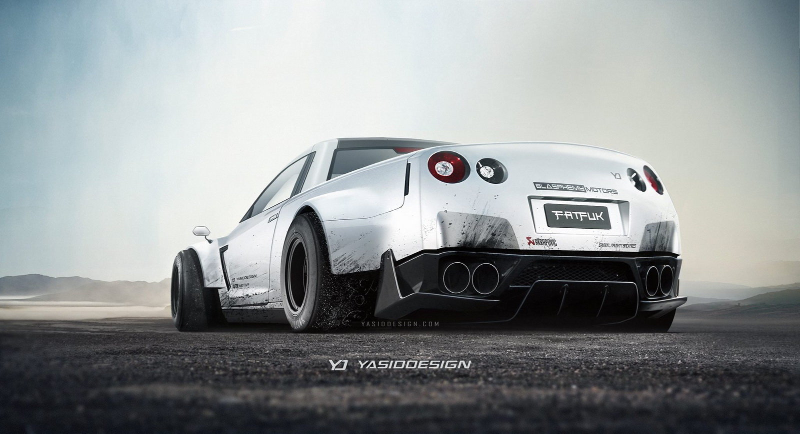 Supersporty jako pickup - Nissan GT-R