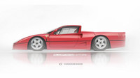 Supersporty jako pickup - Ferrari F40