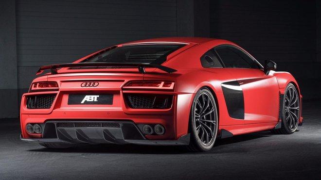 Ilustrační foto (Audi R8 V10 Plus v tuningovém hávu od firmy ABT)