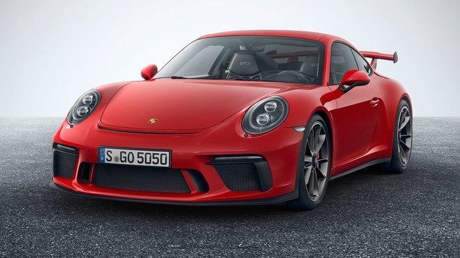 Porsche 911 GT3 RS (2017) nově i s manuálem