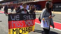 Michael Schumacher nadále zůstává v srdcích fanoušků
