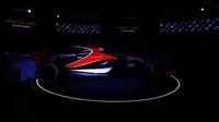 McLaren při loňské prezentaci nového auta