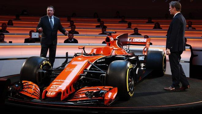 Představení nového McLarenu